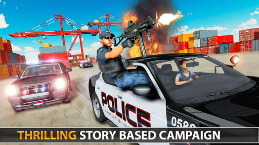 Police Counter Terrorist Shooting - FPS Strike War apkpoly screenshots 21