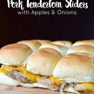 Pork Tenderloin Sliders with Apples & Onions Recipe