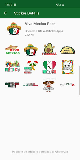 ?? Mexican memes Stickers - New WAStickerApps 2.8.0 screenshots 8