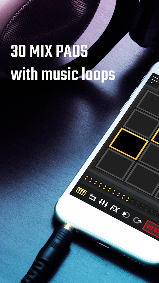 Mixpads Drum Pad Amp Dj Mixer Android Apps On Google Play