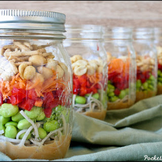 Asian Noodle Jar Salad.