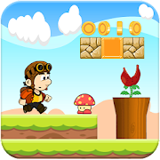 Super Boy Run : Jungle Adventure