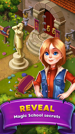 Mahjong: Magic School - Fantasy Quest 3.1 screenshots 2