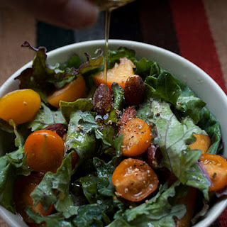 Roasted Peaches Salad Recipes