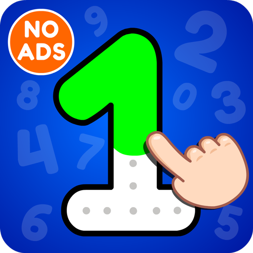 123 Numbers Tracing & Counting Game for Kids Icon