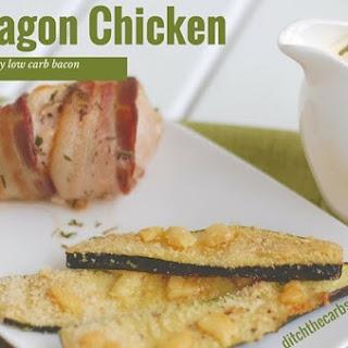 Low Carb Tarragon Chicken.