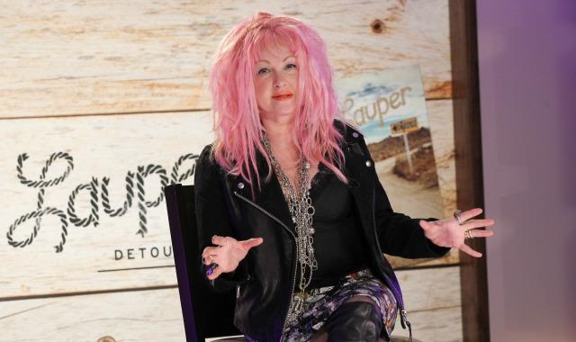 Cyndi Lauper - Can pull it off better than the Stones