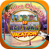 Hidden Object Florida to New York Vacation Puzzle