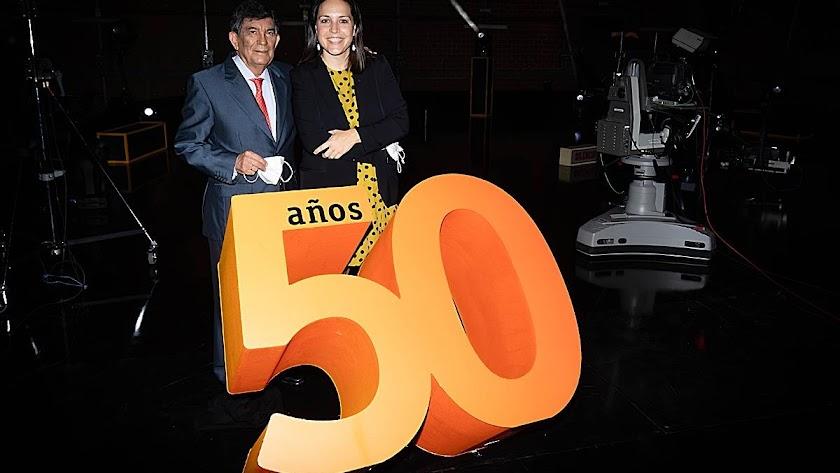 Almería celebra los 50 años de TVE.
