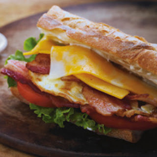 Over-Easy Cheesy BLT.