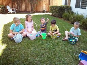 Photo: Cousins at Easter