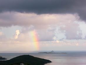 Photo: Rainbow over St Thomas