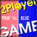Multiplayer Games Pink Vs Blue icon