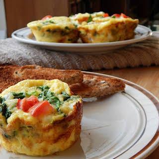 Egg & Veggies Breakfast Cups.