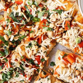 Thai Red Curry Pizza – VEGAN.