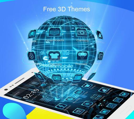 CM Launcher 3D - Theme,wallpaper,Secure,Efficient screenshot 2