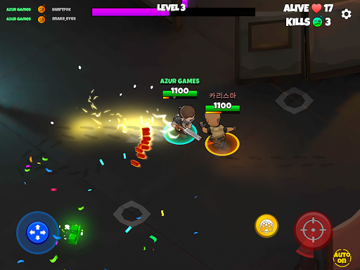 Warriors.io - Battle Royale Action android2mod screenshots 23