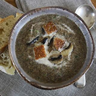 Tarragon and Mushroom Soup.