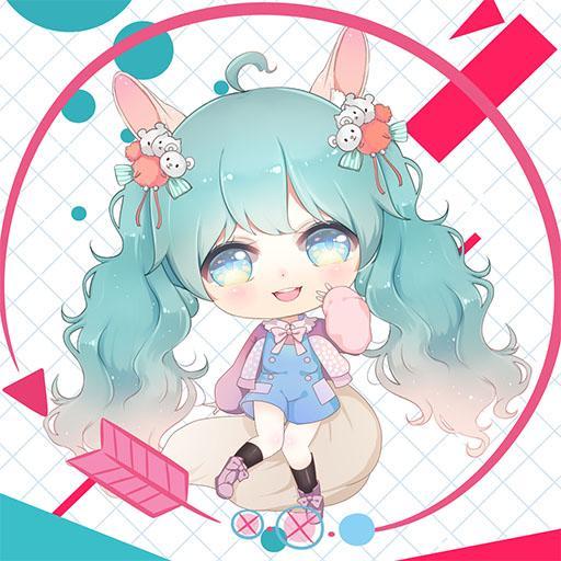 Cute Girl Avatar Maker Icon