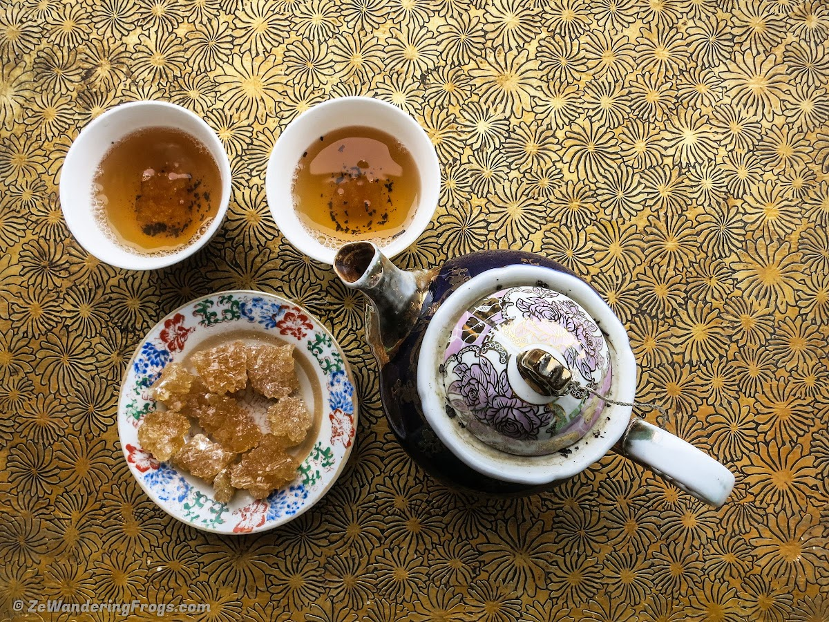 On the Silk Road: Kashgar Old City, China // Traditional Tea