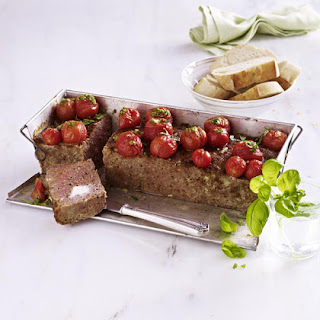 Meatloaf with Tomatoes and Basil