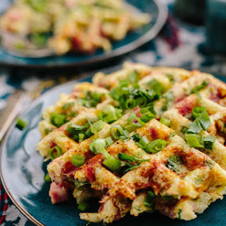 Waffle Iron Cauliflower Hash Browns Recipe