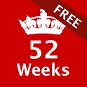 52 Weeks Challenge - Free icon