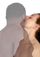 Photo: duet from preVeils • 2008 • c-print transparency on flexible light sheet • life-size • (one available)