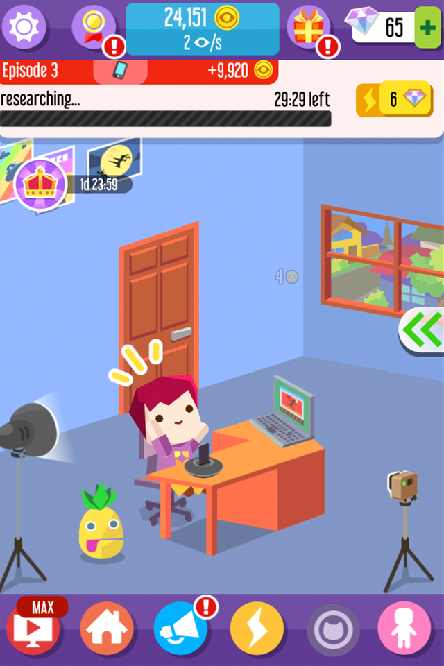 Vlogger Go Viral - Tuber Game Screenshot 6