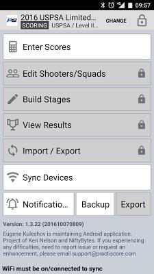 PractiScore - screenshot