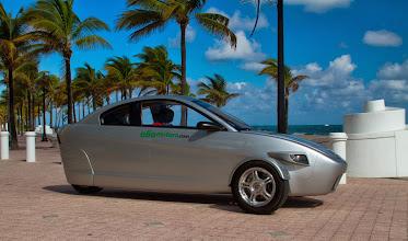 Photo: Elio Motors 3-wheel car.