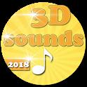 Popular  3D sounds ringtones icon