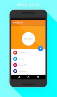 SMS Reader - náhled