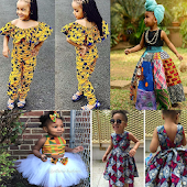 KIDS ANKARA FASHION STYLES 2019