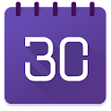 Business 日历  中文行事历 包括天气,小工具和任务 icon