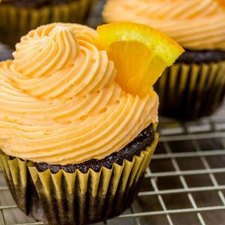 Chocolate Orange Cupcakes.