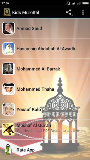 Al Quran Kids 5 Reciter Kids