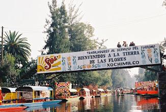 Photo: 1B080014 Meksyk - Xochimilco - park wodny kwiatów – po jedzonku i wypitku koniec zabawy