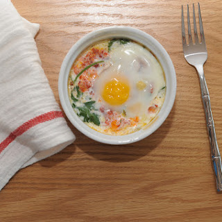 Eggs Baked in Cream