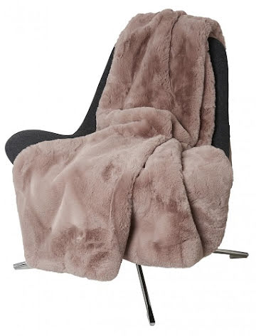 Fluffy Blanket Faux fur 120x180 Rosa