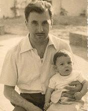 Photo: estiu, 1957, amb el papa