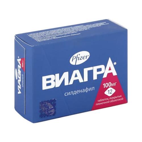 Виагра таб.п/о 100мг №12