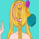 Rapunzel Wedding Braids Icon