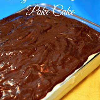 Boston Cream Poke Cake Mix
