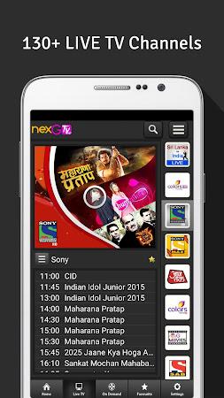 nexGTv HD:Mobile TV, Live TV 3.9 screenshot 220850