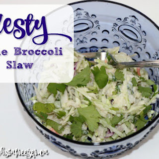 Zest Lime Broccoli Slaw
