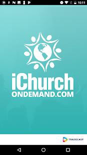 iChurchOndemand - náhled