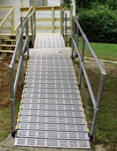 Photo: Handrails are made to go with your individual ramp.