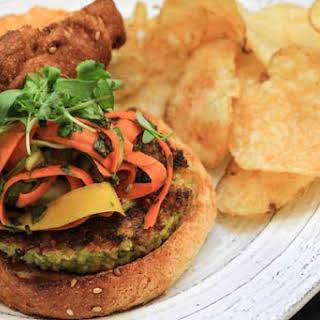 Thai Veggie Burgers.