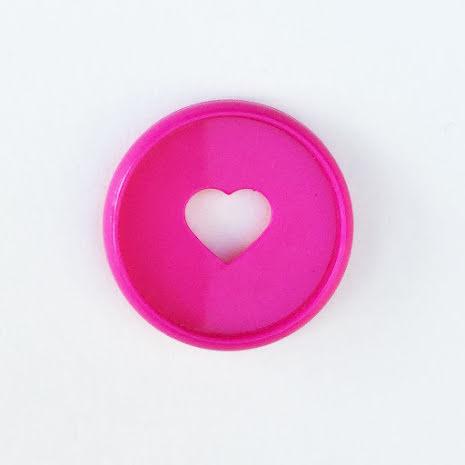 Me & My Big Ideas Planner Mini Discs 9/Pkg - Bright Pink